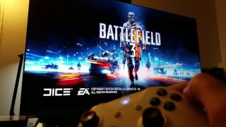 BATTLEFIELD 3 : On Xbox One S Backwards compatible Upscaled to 4K