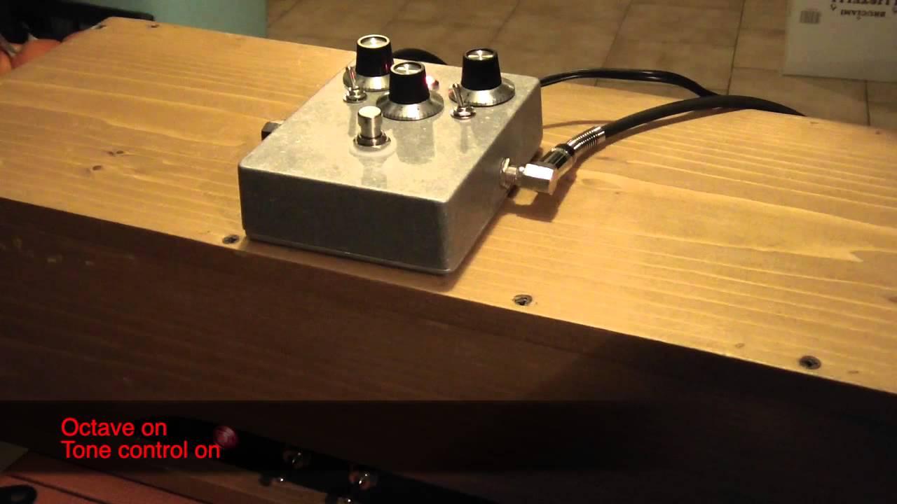 DIY Tycobrahe Octavia mod test - YouTube