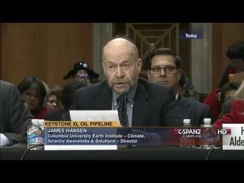 Global Warming 2014 - James Hansen testimony Senate