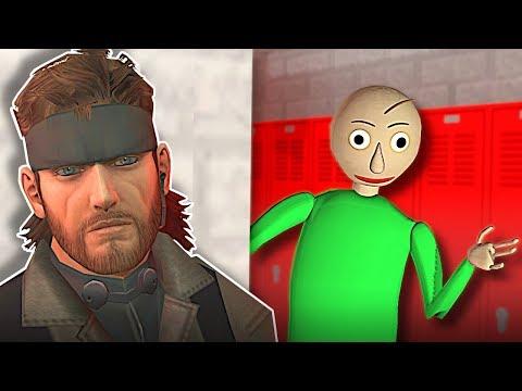 HIDING FROM BALDI! - Garry's Mod Gameplay -  Gmod Baldi's Basics Hide and Seek