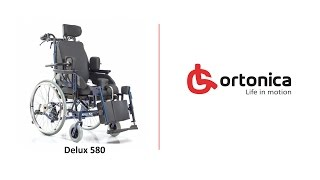 Инвалидная коляска Ortonica DELUX 580