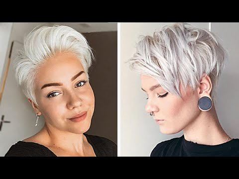 Women Pixie Cut Compilation|Short Haircut Ideas Trends 2020