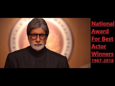 National award for best actor(1967-2018) | India Actors |National Award