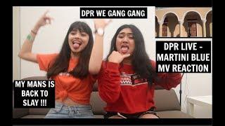 DPR LIVE - Martini Blue (OFFICIAL M/V) REACTION   [ISSA GOOD VIBE]