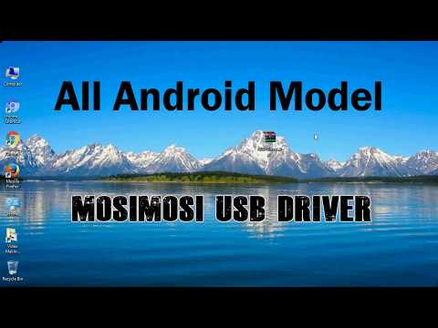 How To Install Mosimosi USB Driver For Windows | ADB And FastBoot