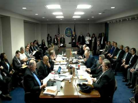 NYS Gaming Commission Meeting 12/21/15