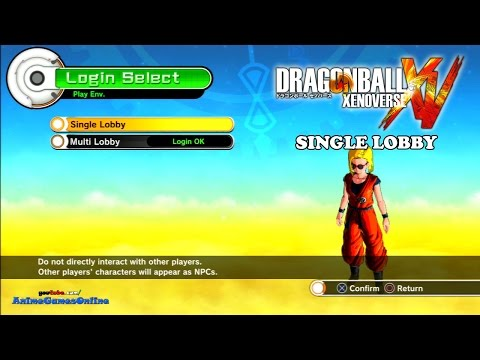 Dragon Ball Xenoverse Single Lobby (with Online Gameplay)