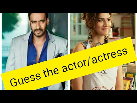 Guess the actor/actress by their film |bollywood films| |challenge for all bollywood lovers|