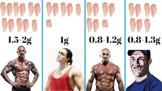 How Much Protein To Build Muscle? The TRUTH !