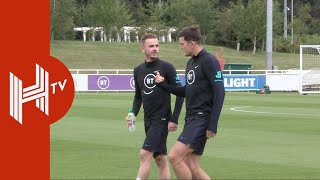 England open training at St. George's Park