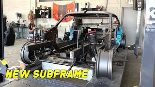 Replacing My Failed Subframe On My 1966 Coyote Swapped Ford Mustang