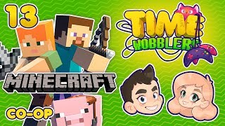 Minecraft - ЧАСТЬ #13: Дом Из Стекла | Time Wobblers