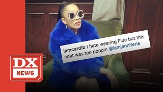 Cardi B Threatened By Crip Gang Members For Dissing The Color Blue