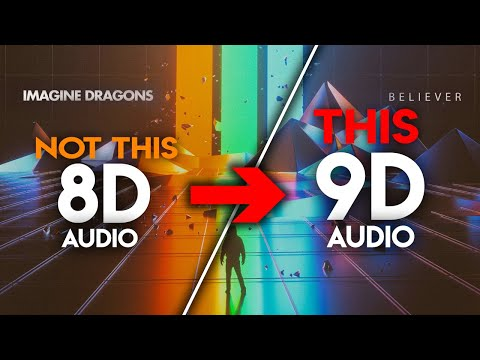 Imagine Dragons - Believer [9D AUDIO | NOT 8D] 🎧 МУЗЫКА - беливер 8д