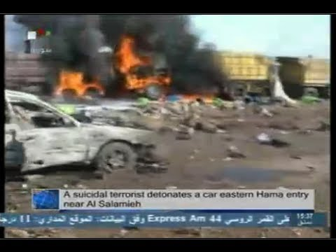 Syra News 20.10.2013, terrorist suicide bombing in Hama, Transporting Chemical Weapons to Iraq