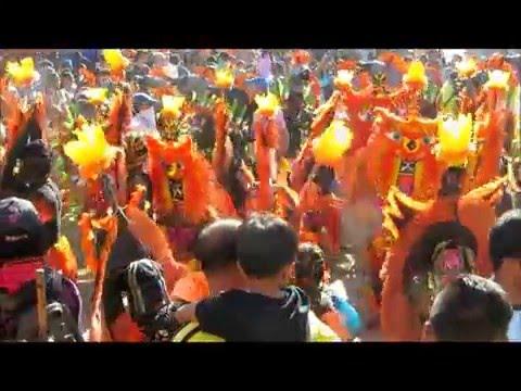 Kalibo Ati Atihan 2016: Sunday Mass and Morning Sadsad
