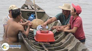 Ra Sông HÀM LUÔNG Hút Ốc Làm Thơ   Hội Ngộ Miền Tây - Tập 104