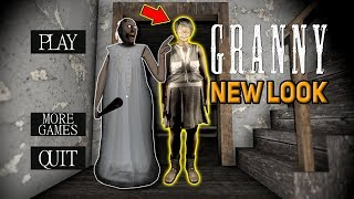 Granny's *NEW* Makeover LOOKS SO WEIRD!!!   Granny The Mobile Horror Game (Mods)