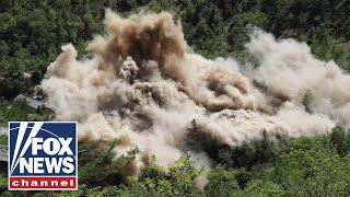 Watch: North Korea destroys alleged nuclear test site