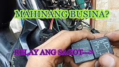 Paano magkabit ng RELAY sa BUSINA ng Motorsiklo - How to install horn relay