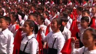 North Korean children swear their lives to Kim Jong-un (April 15, 2013)