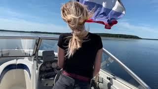 На катере по озеру Селигер 2019