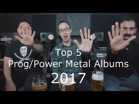 Top Prog Power Metal Albums of 2017 - The Music Box - Album Reviews