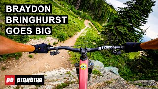 Braydon Bringhurst Finds The Senders At Whitefish Mountain Resort | First Impressions