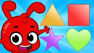 Repeat youtube video Learn Shapes With Morphle! Education Videos For Kids