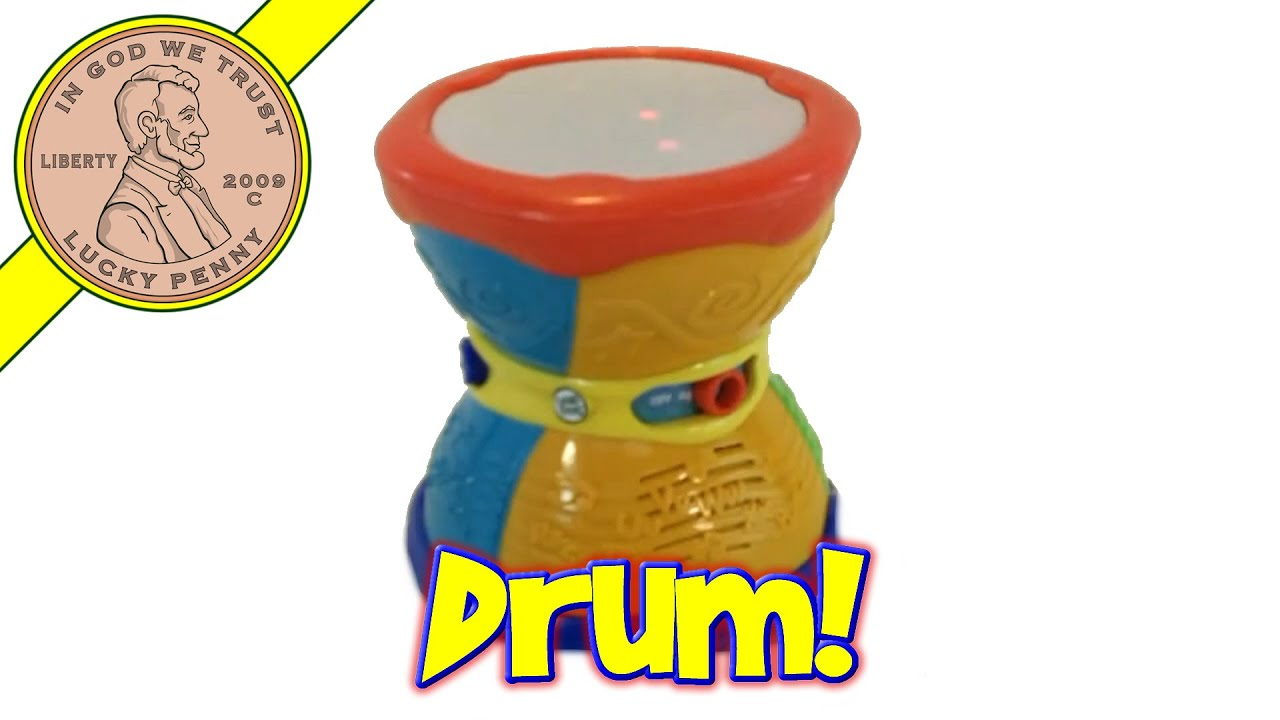 Leap Frog Learn & Groove Alphabet Drum Dance-Along Musical ...