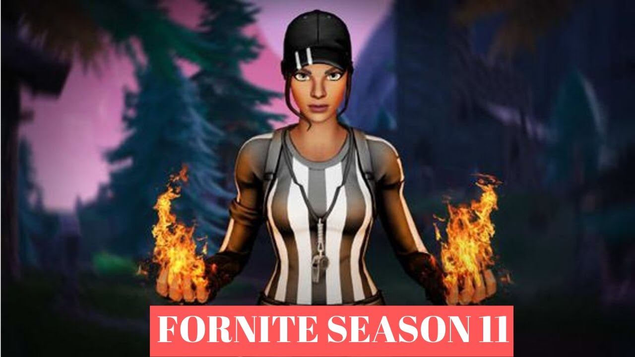 NEW FORTNITE SEASON 11 : Confirmed release date - YouTube