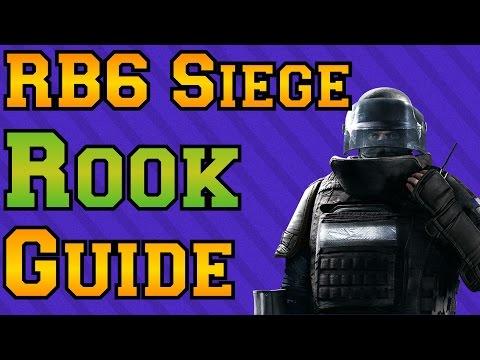 Rainbow Six Siege - Rook Guide