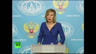 Мария Захарова проводит еженедельный брифинг (24 ноября 2016)