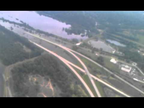Omaha flooding eppley June 2011