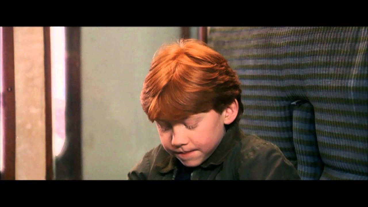 Harry Potter and the Chamber of Secrets - Harry&#39-s first time at ...