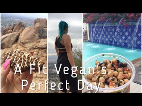 A Fit Vegan's Perfect Day - Hiking & Chillin' in Scottsdale, AZ [VLOG]