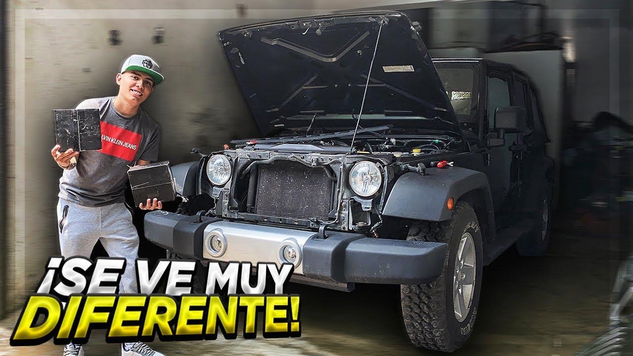 NUEVOS FAROS AL FRENTE DEL JEEP | ManuelRivera11