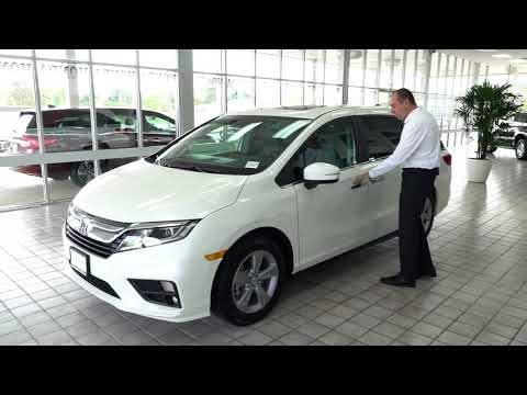 New 2018 Honda Odyssey EX-L 4D Passenger Van | Brilliance Honda