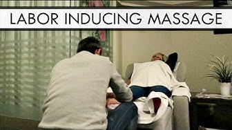LABOR INDUCING FOOT MASSAGE | 38 WEEKS PREGNANT