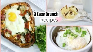 3 Easy & Delicious Brunch Recipes - Breakfast & Lunch Recipes MissLizHeart