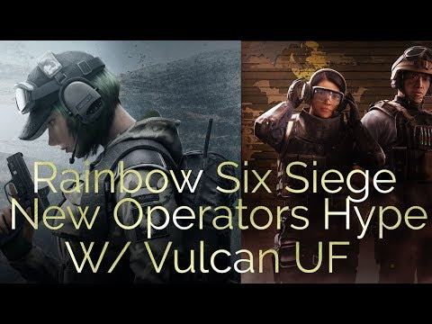 Rainbow six siege W/ Vulcan UF Road too 50 NEW OPS HYPE