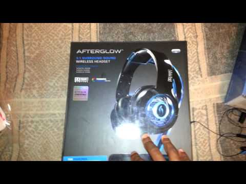 PDP Afterglow PS4 Gaming Headset Review -