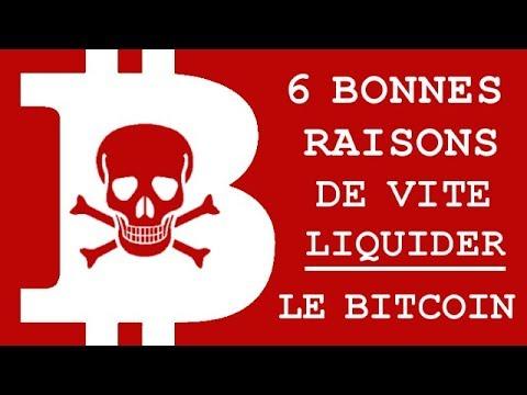 POURQUOI VENDRE VOS BITCOINS ? 6 RAISONS SOLIDES
