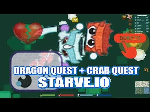 STARVE.IO - NEW UPDATE - DRAGON QUEST/CRAB QUEST - AG TANGRA EXPOSED + CHARITY