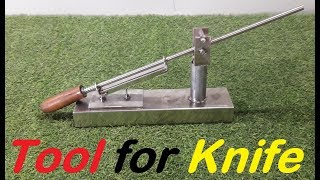 Homemade tool! How to Make a Knife Sharpening Jig