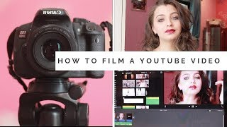 How to shoot  a Make-up tutorial   | 7 Questions |Filming and editing Day 12| |