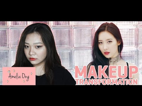 SUNMI GASHINA MAKE UP TRANSFORMATION | #AmeliaBeautyJournal