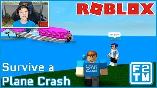 I AM THE PILOT!!! Roblox Survive a Plane Crash
