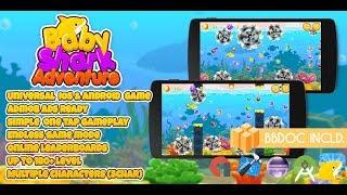 Baby Shark Adventure Buildbox 2.2.8 ( BBDOC + Android Studio + Eclipse + IOS Xcode)