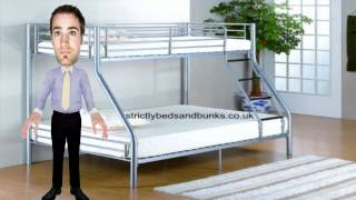 Foxtrot Triple Sleeper From Strictlybeds.co.uk
